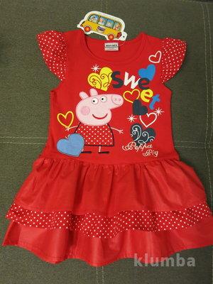 Детское летнее платье Пеппа, Nova, дитяче плаття, сукня для дівчинки, Пепа, літнє плаття для дівчинк