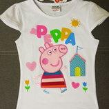 Детская футболка для девочки с Пеппой, Пепа, дитяча футболка