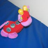 Развивающая игрушка пищалка жирафик