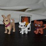 Разные фирменные фигурки для разных наборов друзья Барби животные