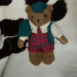 прикольный мишка медведь в оригинальном наряде IMC international Англия оригинал 30 см