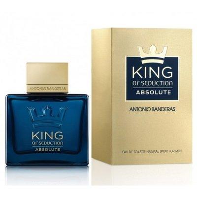 Antonio Banderas King Of Seduction Absolute 100 мл для мужчин осень,зима