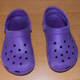 Фирменные кроксы для девочки, размер 5 22,5 см