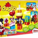 Lego duplo Mickey and Minnie Birthday конструктор лего день рожденье Микки и Минни мауса