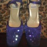 Туфли - закрытые босоножки