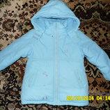 Зимний комплект Marskid куртка и полукомбез на 7 лет р.116 -122