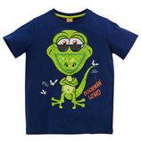 Яркие футболки на мальчика с веселыми принтами, Кик Германия