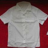 Школьные рубашки, блузки и гольфики 6-9 лет
