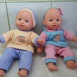 Кукла Пупс Пупсы пупсики двойняшки братик и сестричка. Gi-Go toys