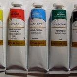 Краска масляная художественная Сонет для живописи живопису фарба канцтовары масло канцелярские