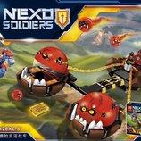 Конструктор Lele Nexo Soldiers 79238 Безумная колесница Укротителя Аналог Lego Nexo Knights 70314