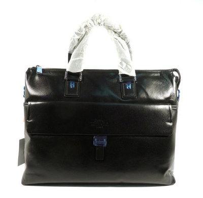1f82114dd667 Портфель кожаный мужской черный Hermes 6951-1: 4160 грн - мужские ...