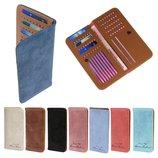 Портмонe стильный кошелек для купюр и кредиток разные