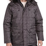 Куртка-Парка зимняя мужская Swiss Tech с капюшоном