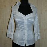 Новая женская белая блуза DeLizza р. 42-44