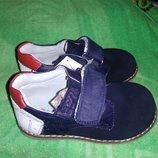 демисезонные туфли - ботиночки кожа