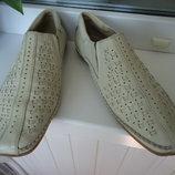 Мокасины кожаные 37 размер