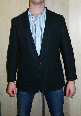 Мужской пиджак Marks&Spencer р. 52-54 цвет мокрый асфальт