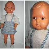 Старинная кукла целлулоид Cellba 40-50гг Германия