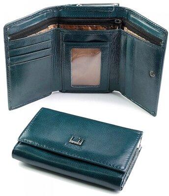 Красивый кожаный кошелек. женский бумажник поцелуйчик . женское кожаное портмоне