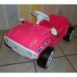 Педальная Машинка розовая Орион 792 машина с педалями