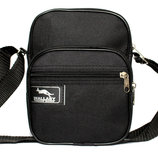 Мужская сумка компактная на плечо и пояс 2661