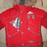 Донило мод 2210 куртка зимняя и полукобинезон Donilo р 86,92,98,104 для мальчика