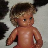 роскошный винтажный анатомически корректный кукла-пупс мальчик Fisher-Price Сша оригинал клеймо