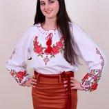 Красивая женская вышиванка р. 46-56 жіноча вишиванка