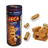 Вега Джанга Vega Вежа настольная игра деревянные бруски данко тойс