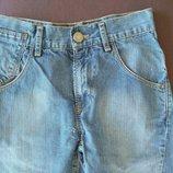 Шорты, бриджи Levi Strauss голубые, джинсы, 10 лет