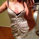 Платье Змея коктельное. Новое. 44-46