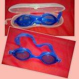 Очки для плавания. Чехол в подарок.