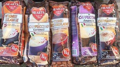 Капучино Hearts 1 кг. Германия