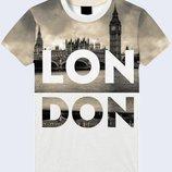 Мужская футболка 3D Лондон Огромный выбор