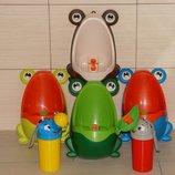 Детский туалет, писсуар горшок для мальчиков