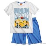 Пижама с миньонами на мальчика, р. 128, фирма Дисней Disney
