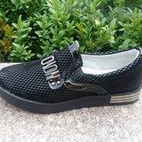 туфли,слипоны для девочки фирма Башили размер 31,32,33