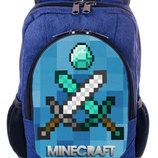 Школьный рюкзак купить принт Майнкрафт Minecraft принт
