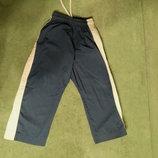 Детские штаны для единоборств синий