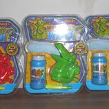 Крокодил, выдувающий пену 120 мл пузырей в наборе, оригинальная игрушка