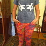 Фирменные стильные штаны джинсы