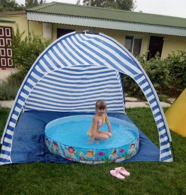 Качественный пляжный тент палатка Coleman 1038. Низкая цена.