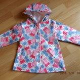 Куртка -ветровка, дождевик на девочку 1-1,5 года, George