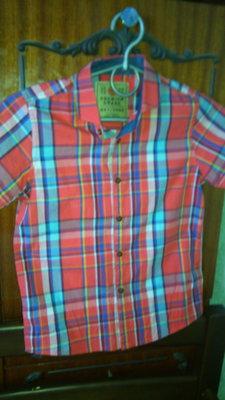 Модная клетчастая рубашка Next, рубашка в клетку