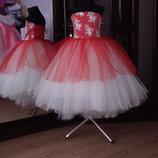 нарядное детское платье арт.5094