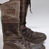 Зимние кожаные сапоги Roberto Santi