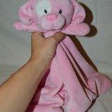 Фирменный большой комфортер полотенечко салфетка игрушка собачка щенок песик слюновпитывающее мягкое