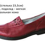 Туфли мокасины р.36/37