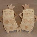 Шкатулка - комод из дерева Для Принцессы